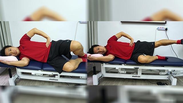 【有片】走路內旋致腳痛?物理治療師教2招強化臀中肌