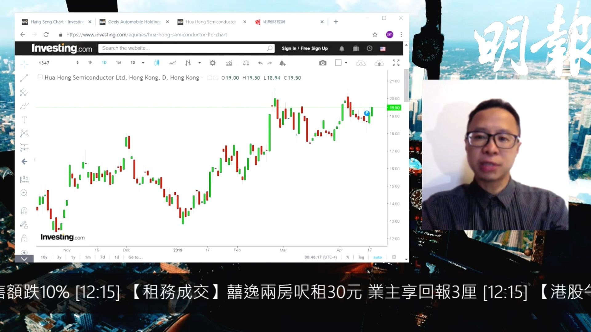 【有片:選股王】市場需求改善利好次季營運 華虹半導體追落後