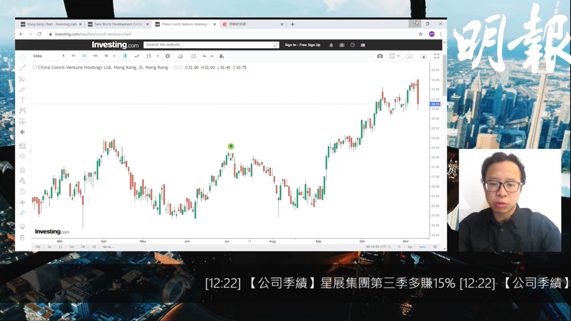 【有片:選股王】海螺創業環保業務高速增長 中線值博