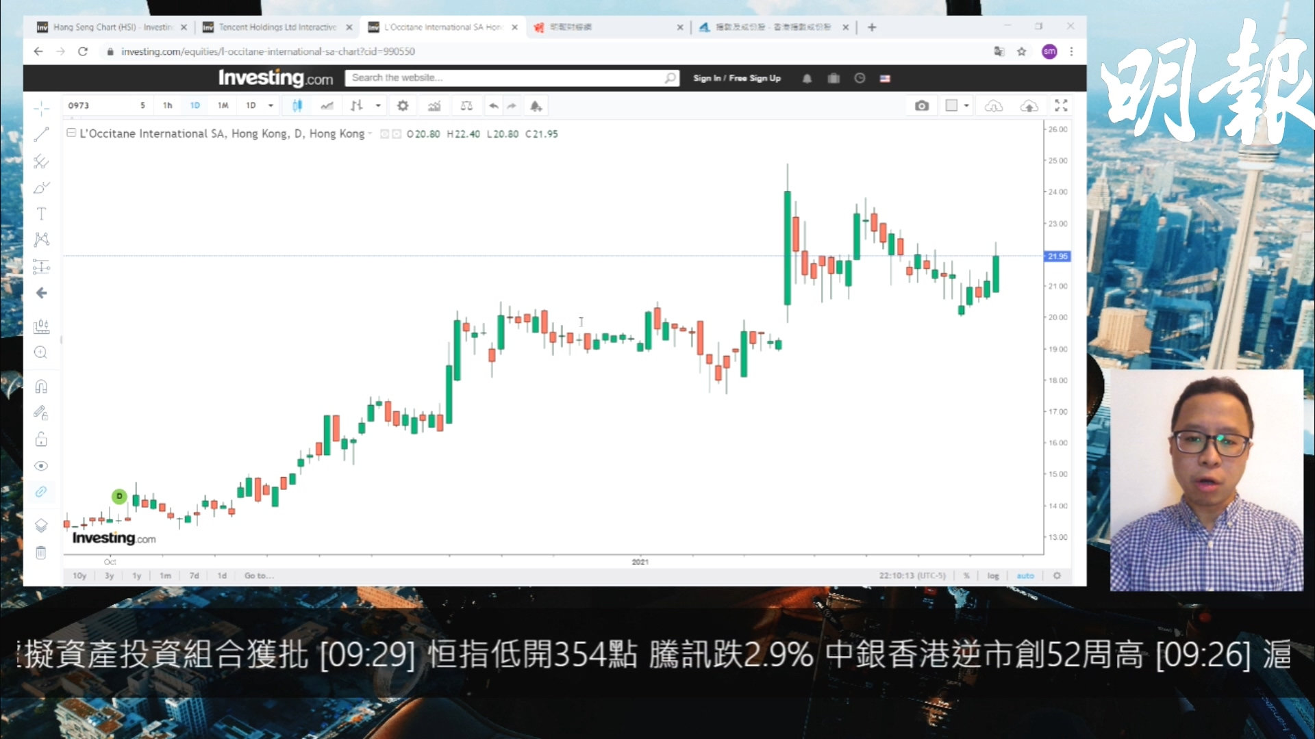 【有片:選股王】歐舒丹銷售持續顯著改善