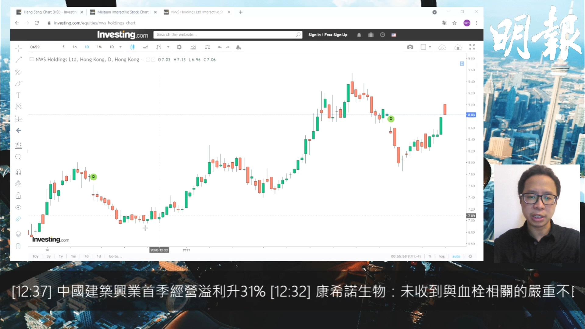【有片:選股王】港股再度反彈 港資股繼續强勢