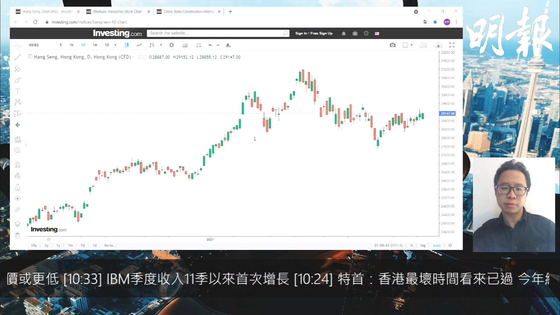 【有片:選股王】港股表現反覆 中國建築可以留意