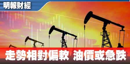 【有片:埋身擊】走勢相對偏軟 油價或急跌