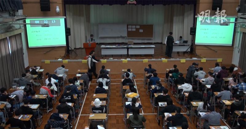 2.1萬DSE生獲大學入場券 最少1.4人爭1學位(楊凱力攝)