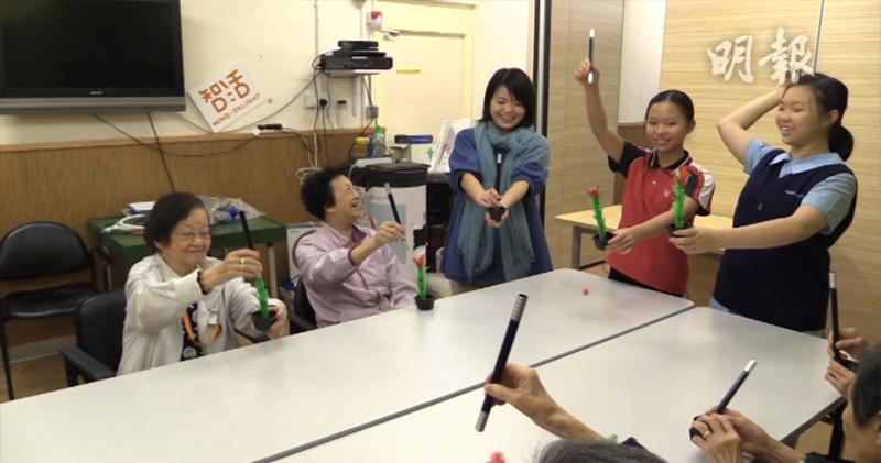 「基層學童長者玩魔術互學習」的圖片搜尋結果