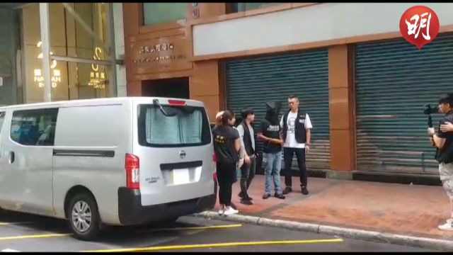 【短片】尖沙嘴找換店千萬元劫案 警拘8人 一人今午提堂
