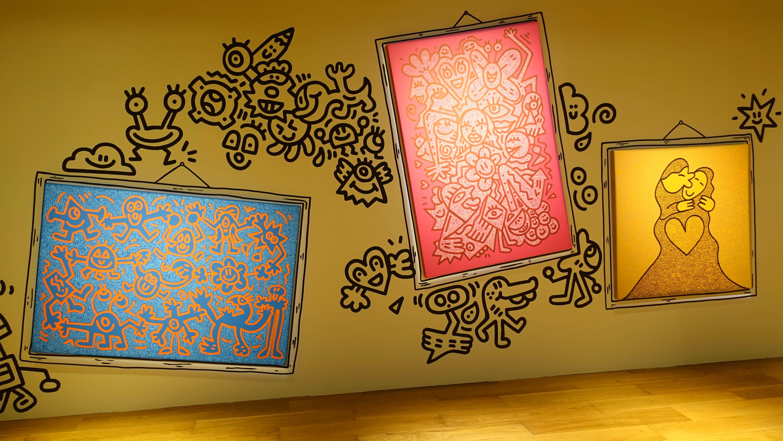 「Mr Doodle 逆襲蘇富比」展售會(拍攝、剪接:何芍盈)