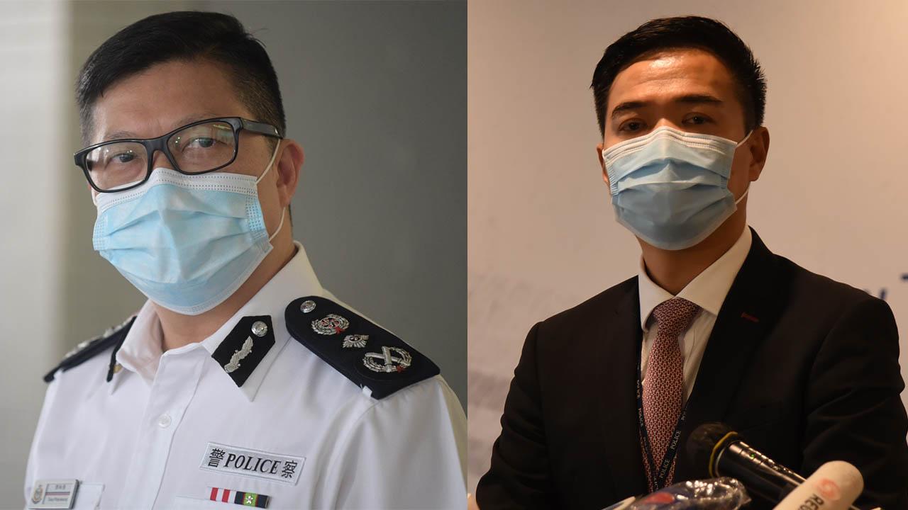 7‧21事件警昨稱18分鐘到場 鄧炳強今稱30多分鐘(香港警察facebook片段、何采思剪接)