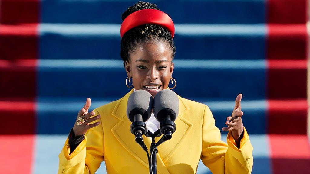 拜登總統就職禮 黑人女桂冠詩人Amanda Gorman誦詩(Biden Inaugural Committee YouTube影片)